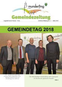 Gemeindezeitung März 2018