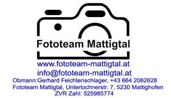 Dieses Bild zeigt das Logo vom Fototeam Mattigtal.