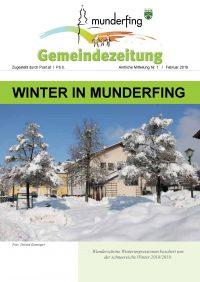 Gemeindezeitung Februar 2019