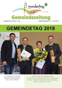 Gemeindezeitung April 2019
