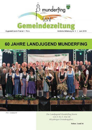 Gemeindezeitung Juni 2019