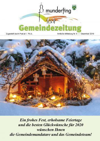 Gemeindezeitung Dezemberg 2019