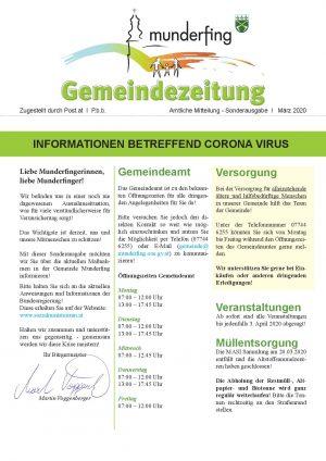 biz munderfing - Brgermeister Zeitung