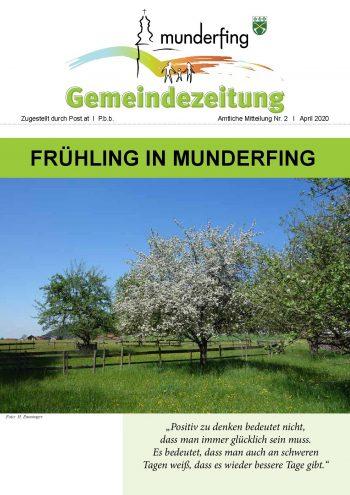 Gemeindezeitung April 2020