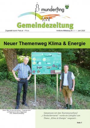 Gemeindezeitung Juni 2020