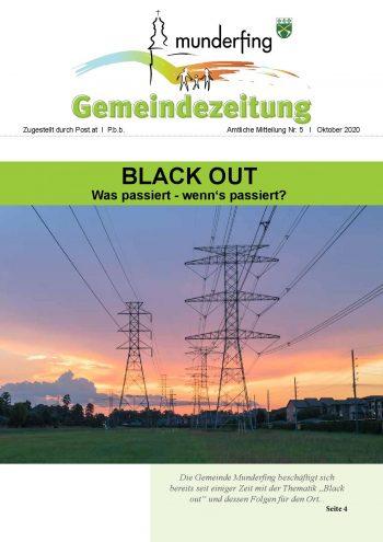 Gemeindezeitung Oktober 2020