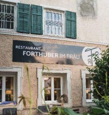 Dieses Bild zeigt das Restaurant Forthuber im Bräu.