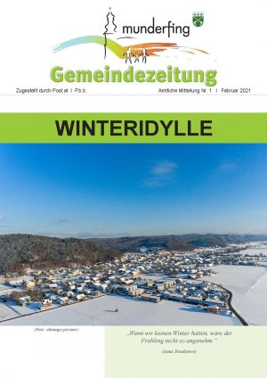 Gemeindezeitung Februar 2021