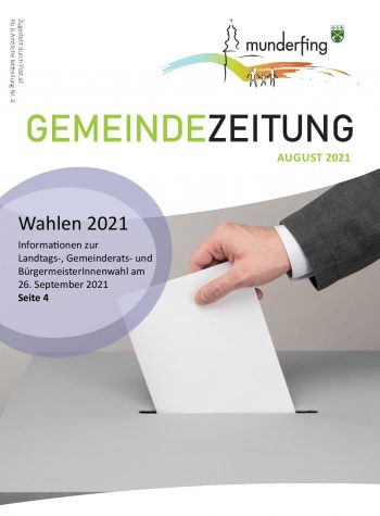 Gemeindezeitung August 2021