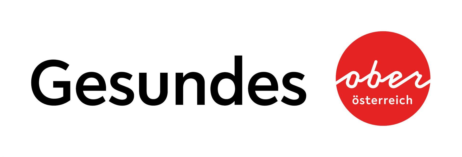 """Dieses Bild zeigt das Logo von """"Gesundes Oberösterreich""""."""